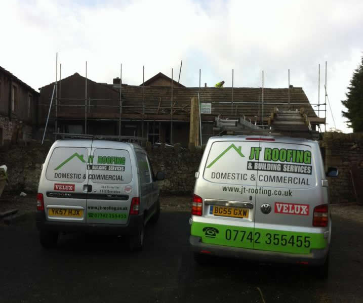 roofers burnley