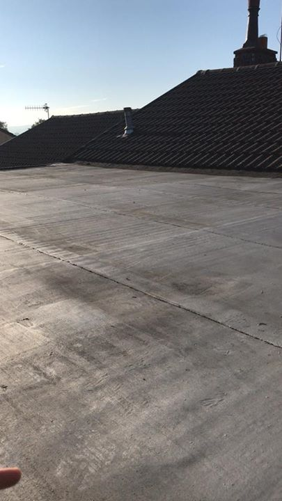 This is the 4th time this flat roofs been Also the last time for…