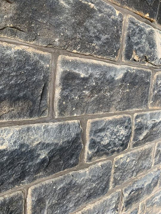 Recent Repointing project at This style of pointing really compliments the sandstone