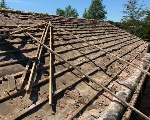 Recent Stone reroof Barnoldswick – Roofing Services Barnoldswick, Lancashire
