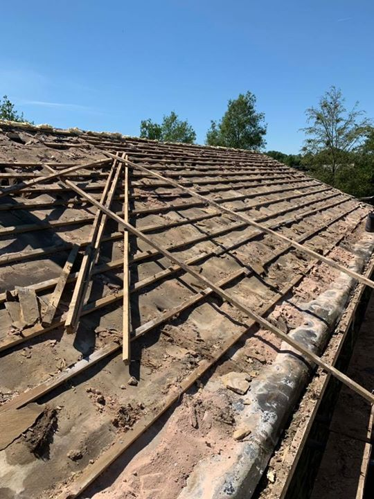Recent Stone reroof Barnoldswick – Roofing Services Barnoldswick, Lancashire
